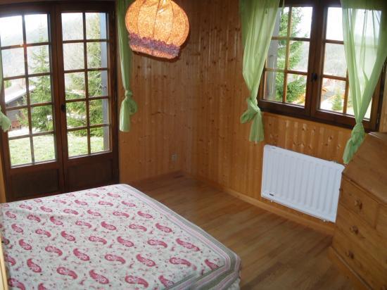 Chambre rez-de-jardin